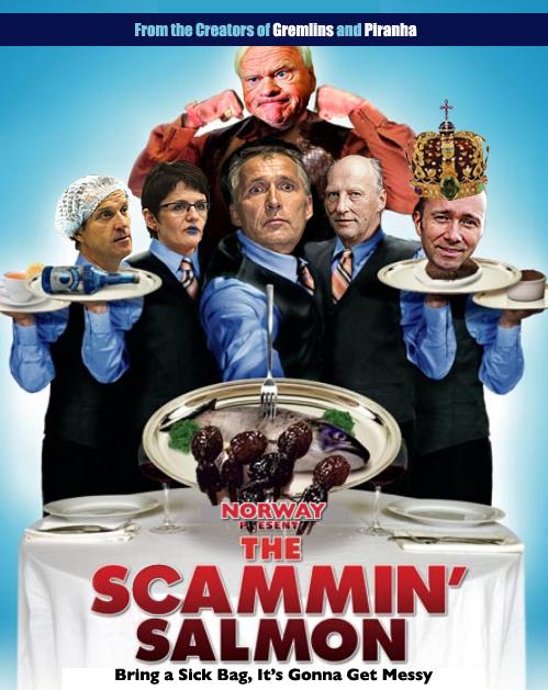 Scammin Salmon film poster