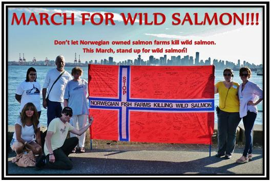 Wild Salmon First March for Wild Salmon #4 Dawn Rod Sabra Mad Love