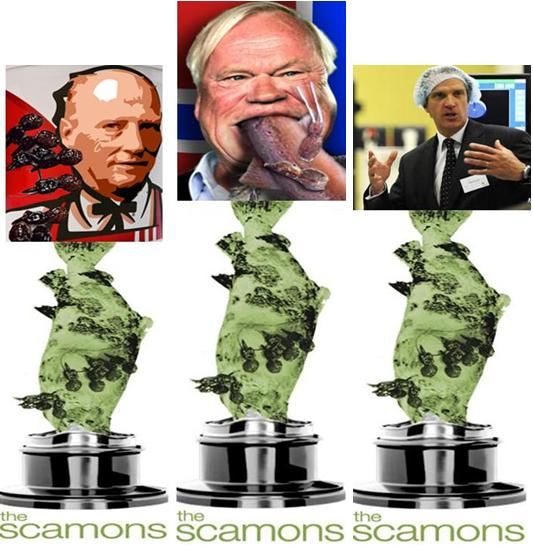 Scamons collage King Fredriksen Hindar