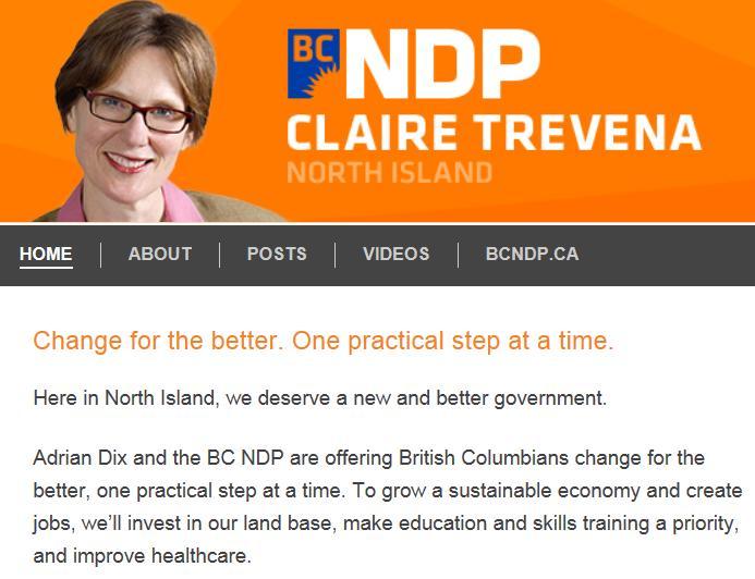 Claire Trevena website