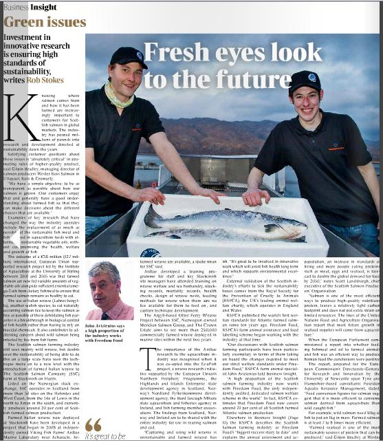 Times Insight Scottish salmon #7