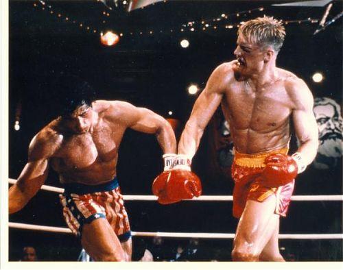 Rocky Drago 5 punching back