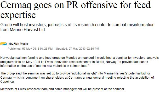 MH Cermaq PR offensive 7 May