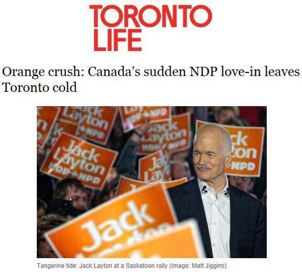 NDP tangerine tide