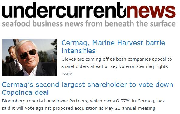 MH Cermaq Undercurrent News