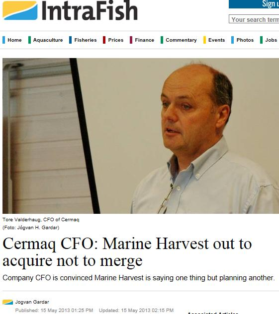 MH cermaq acquire #1