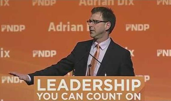 Adrian Dix leadership count on
