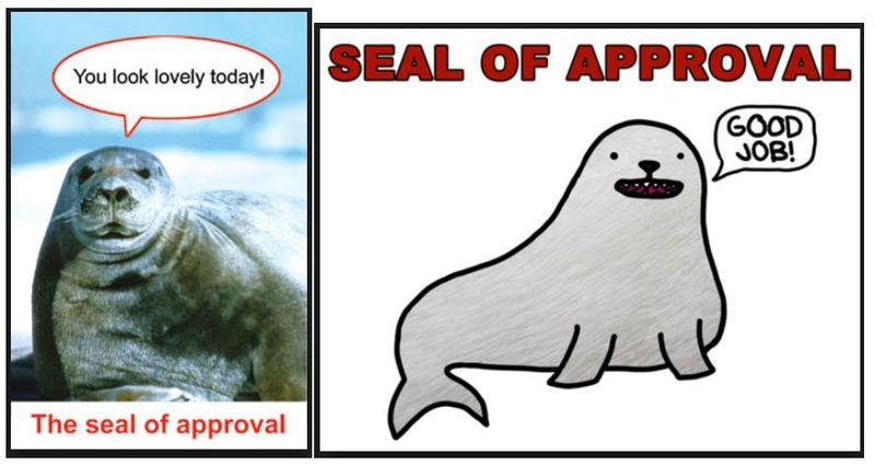 Seal of approval #3