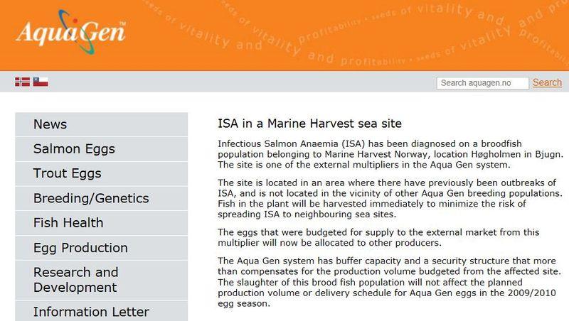 Aquagen ISA Norway MH