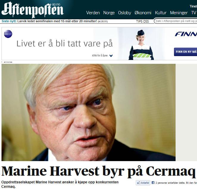 MH cermaq Aftenposten