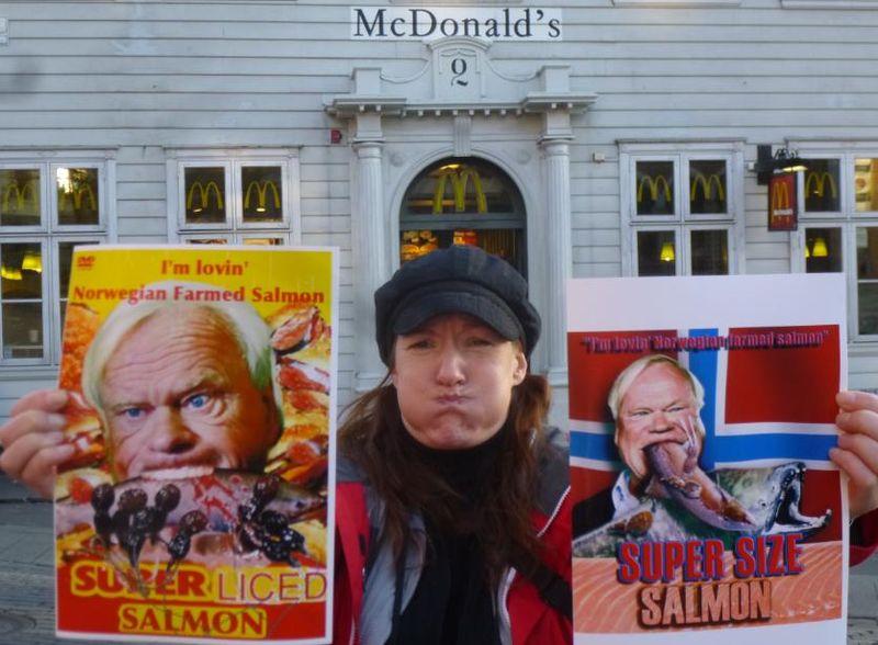McDonald's Elena sick