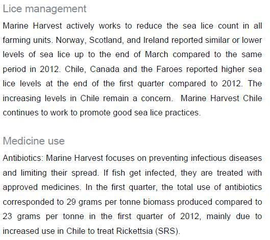 MH Q1 2013 sea lice antibiotics
