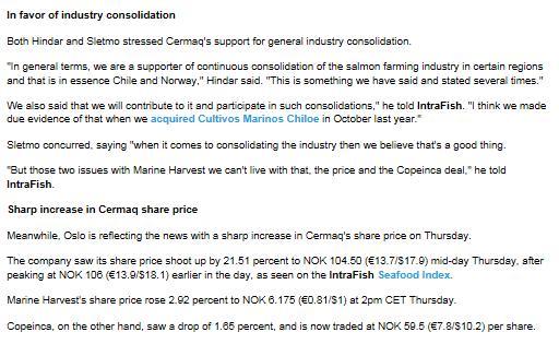 MH Cermaq Intrafish battle shareholders #3