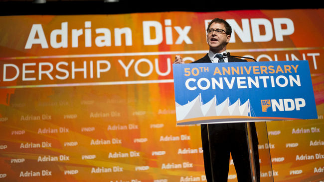 Adrian Dix leadership