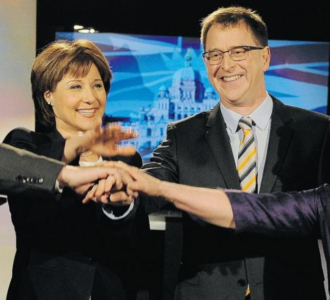 Adrian Dix and Christy Clark #3