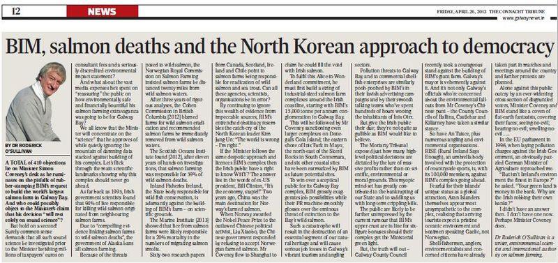 Connacht Tribune 26 April 2013