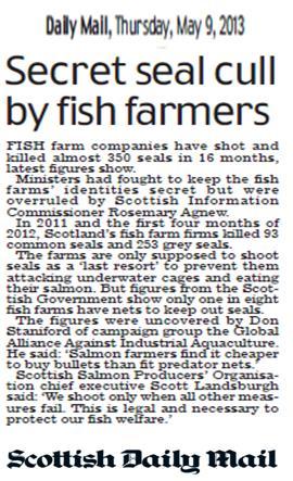 Daily Mail 9 May 2013