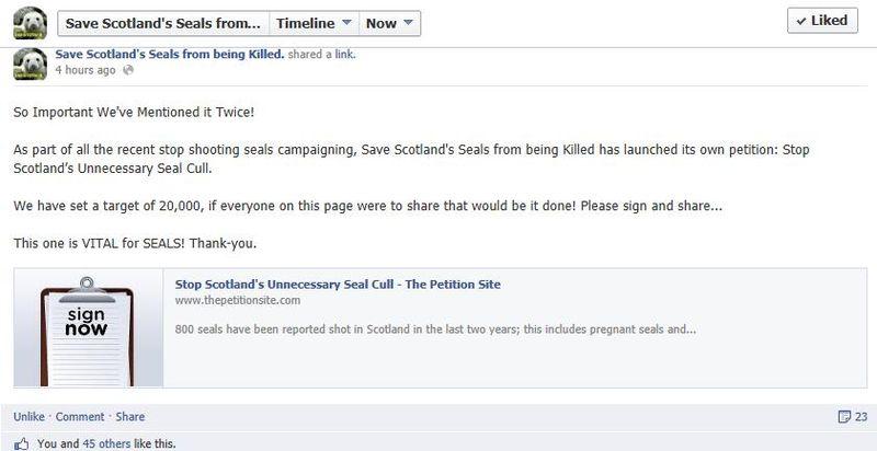 Facebook seal page #2