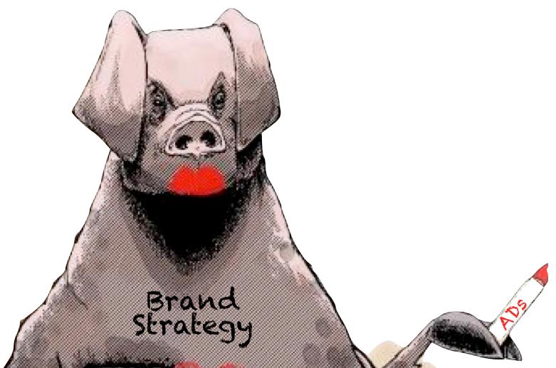 Lipstick on a pig #7 ads