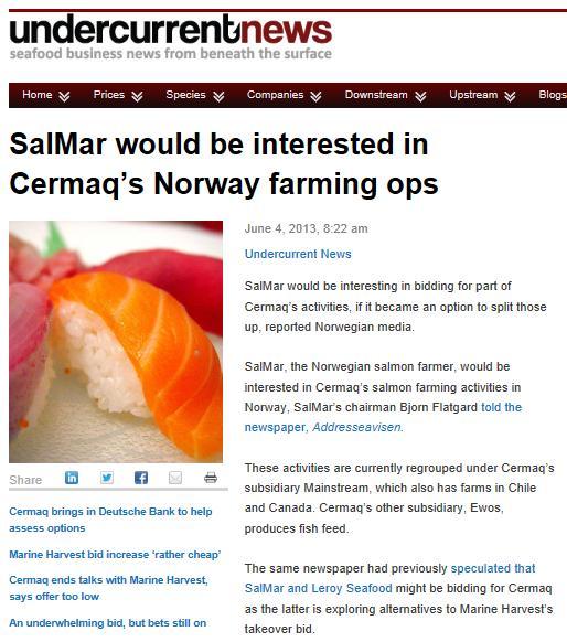 MH Cermaq Undercurrent News #5