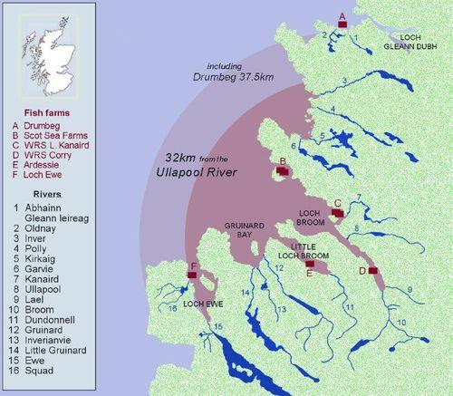 37km Ullapool River Map