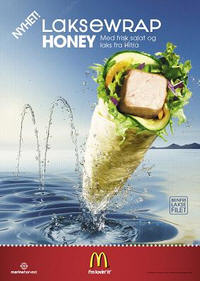 McDonald's wrap #2