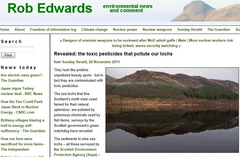 Rob Edwards 2011 article