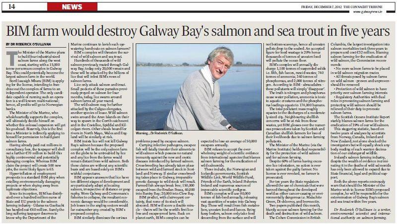 Connacht Tribune 7 Dec 2012
