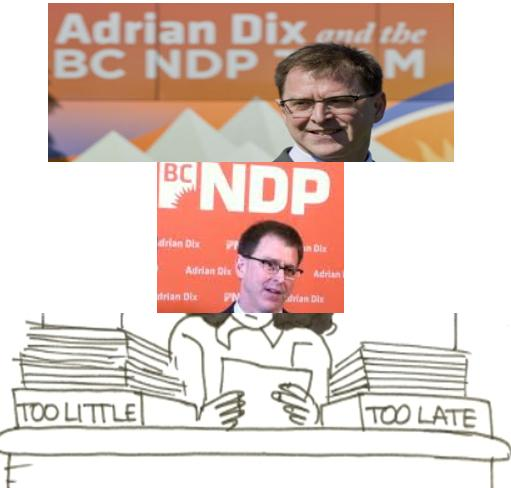 Adrian Dix too little too late