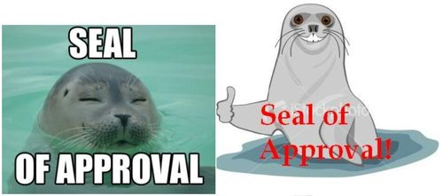 Seal of approval #1