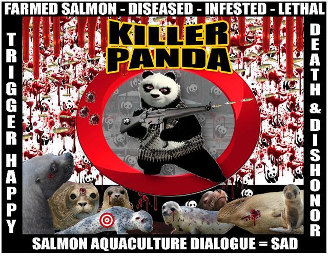 WWF panda shooting graphic #3