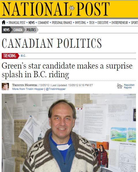 Greens National post