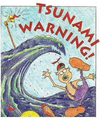 Tsuami warning
