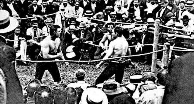 Bare knuckle boxing