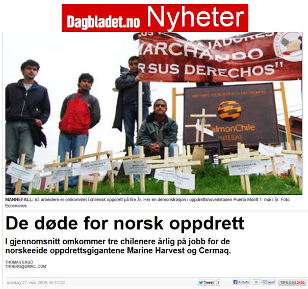 Defamatory Words #9 Dagbladet on diver deaths