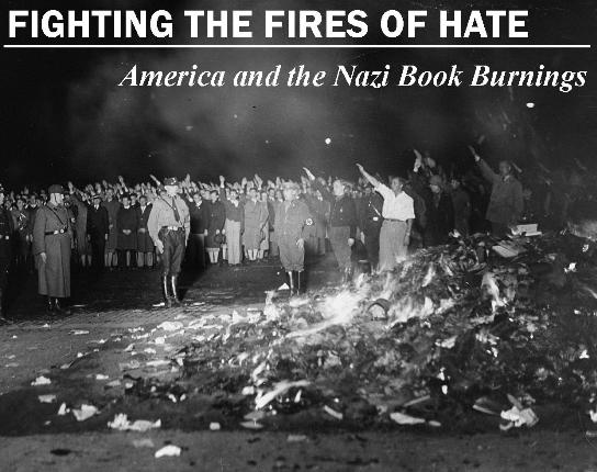 Nazi burning books #2