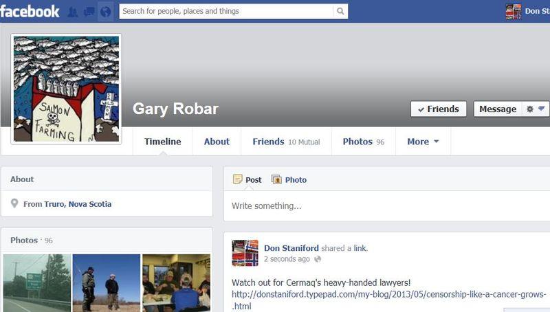 Facebook Gary Robar