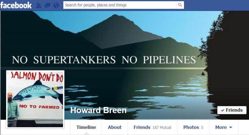 Facebook Howard Breen