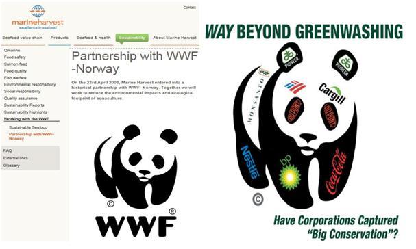 WWF greenwashing