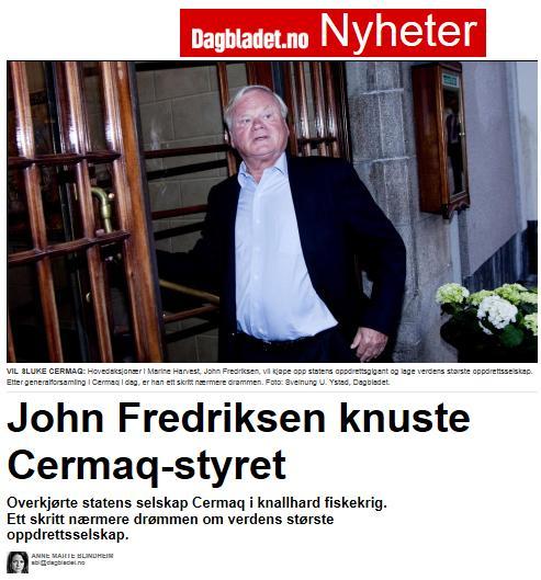 MH cermaq dagbladet