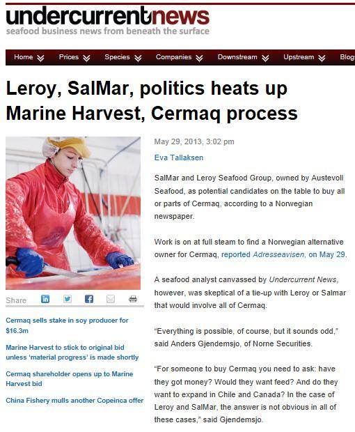 MH Cermaq Undercurrent News #3