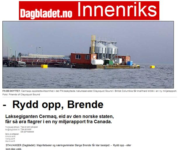 Dagbladet 2005 ergo cermaq