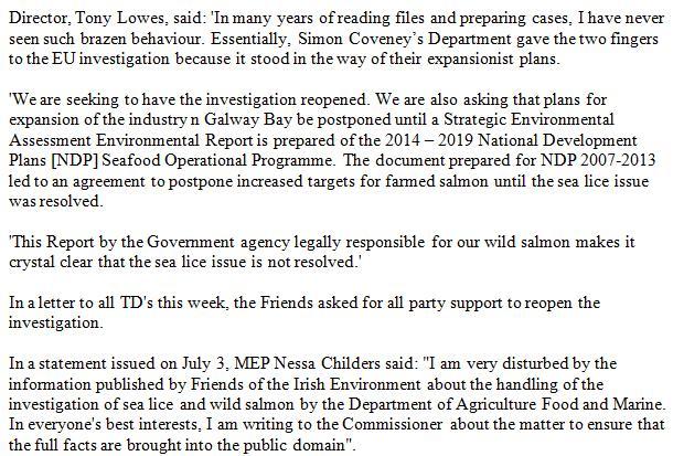 Fish News EU lice and lies #2