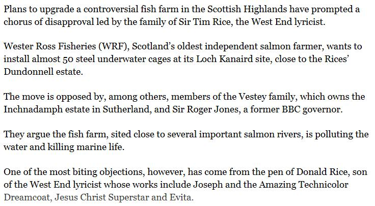Sunday Times on Rice vs WRF Loch Kanaird 7 July 2013 #2 body