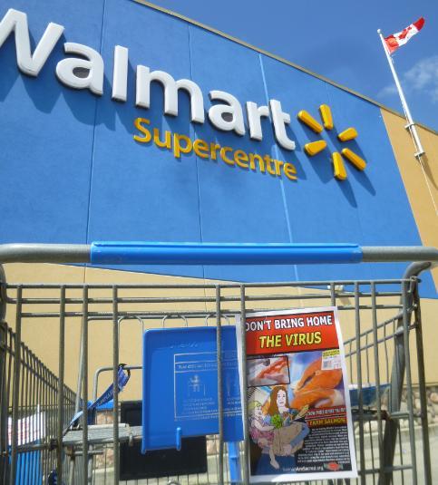 Walmart photo #6 dont bring home virus