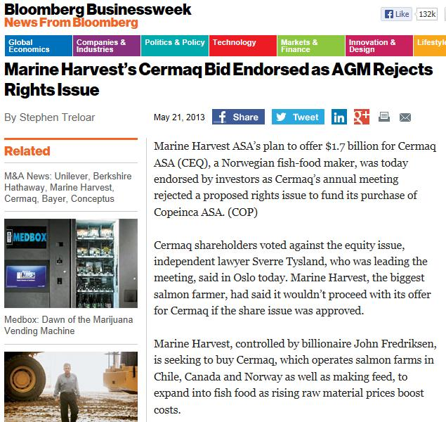 MH cermaq Businessweek MH win
