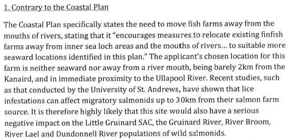 Loch Kanaird objection Donald Rice June 2013 #2