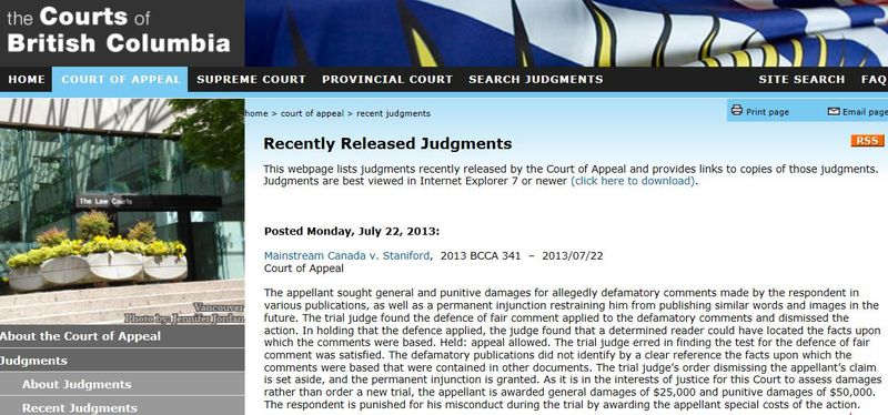 Appeal Judgment #3 BC court