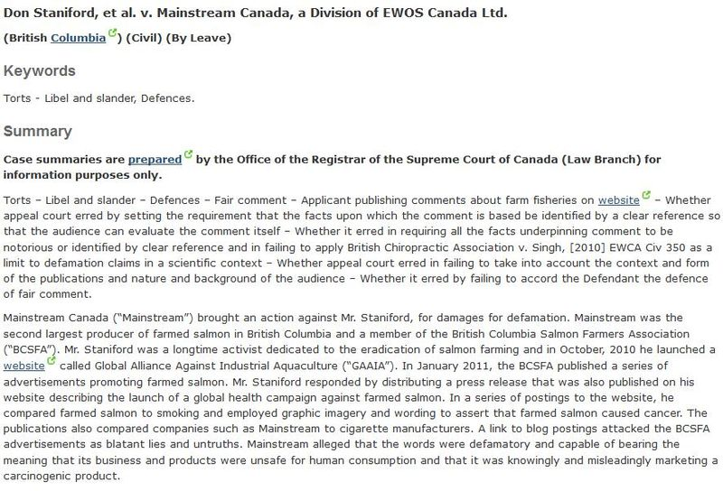 SCC case summary Feb 2014