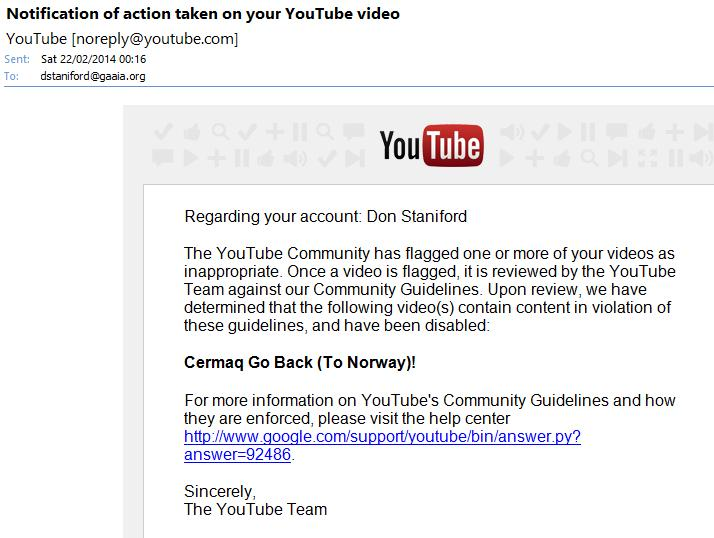 You Tube censored #4
